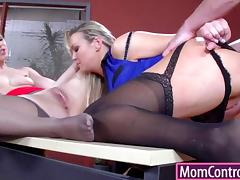 Job interview turns into hot anal action