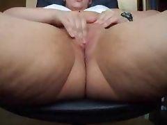 Mature Fatty Webcam Masturbation