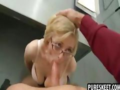 Glasses videos. Some men are turned on when sluts are wearing glasses during sex
