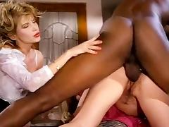 Barbarella, Moana Pozzi, Sean Michaels in well-hung black retro porn star doing latin chicks