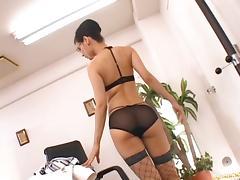 Maria Ozawa Hot Japanese doll is a horny secretary