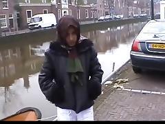 Petite Moroccan hooker gets fucked by a Dutch farmer
