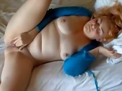 Webcam BBW in a nasty homemade masterbation action