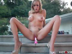 Brett Rossi Screaming Orgasm Rings Out Over Hollywood