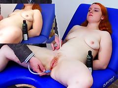 Miss Fi's Huge Enema with The Hard Colon Snake