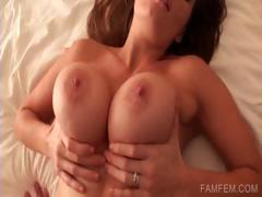Close up with pussy fucking in POV