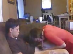 Cute Teen Blows And Rides Her BF