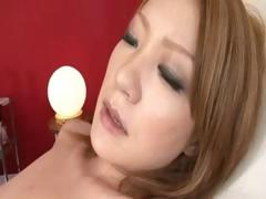 Japanese damsel does some dirty deviant deeds with a dude