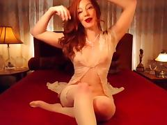Little red bunny freechat tease