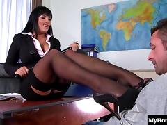 Jasmine Black is always wanting a dick in her pussy