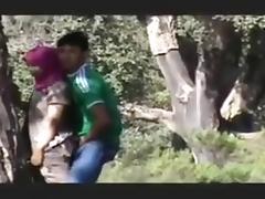 Arab Couple Caught In Garden