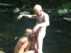 Grandpa sucked & sucking