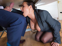 Mea Melone & Freddy Fox in Under The Table Deal - Brazzers