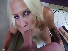 Exotic pornstar Lylith Lavey in crazy blowjob, hd porn clip
