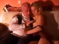 She Really Loves Her Grandpa !