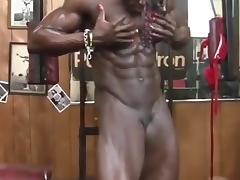 Amazing female body builder