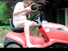 Transvestite garden sounding urethral pumping fisting 43