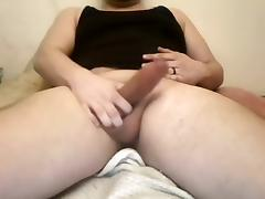 Married guy jerks off and cums