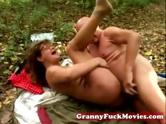 granny fucked by her boyfriend