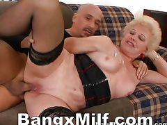 Mature Blonde Thirsty For Hot Jizz
