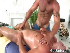 Fine guy gets amazing gay massage