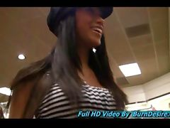 Shelbie and Felicia sexy teen petite Asian girl with nice round breasts and a lot of energy