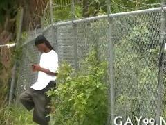 Great interracial gay sex