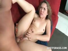 Blondie having an orgasmic twat fuck
