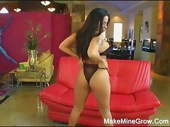 Big Tits Latina Fucked Hard And Got Facial
