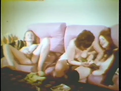 Threesome Girlfriend Toy Action 1960