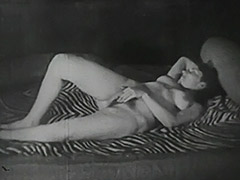 Hot Girl Playing with Her Friend 1940