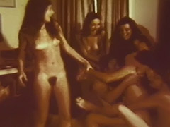 Groupie Girls Make Men Fuck Them Hard 1960
