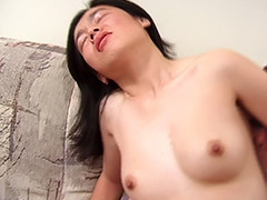 Group Fucking Action Starring a Hairy Asian Teen and 2 American Dicks