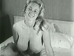 Big Busty Virginia Bell Solo 1950