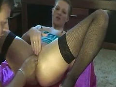 Fisting my girlfriends pussy till she orgasms