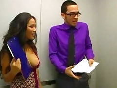 Jessica Bangkok Is An Elevator Quickie