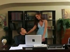 Boss Caught Cheating On His Wife Getting Blowjob In Office