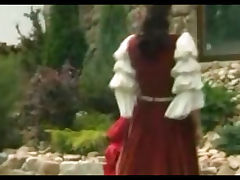 Jessica Fiorentino gets a cock in her backyard