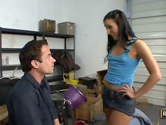 Ashli Orion Eats a Big Dick