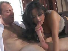 Super Horny Asian Office Slut Kaylani Lei Gets Fucked and Facialized