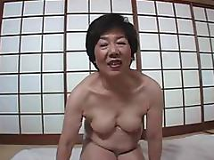 Japanese Grannies videos. Japanese Granny Strips and Lets Guy Tease Her with a Vibrator