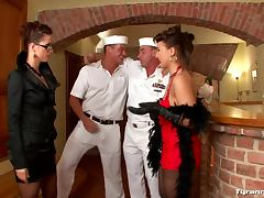 Sailors used by dominant women