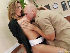 Johnny Sins Fixes Kayla Paige's Vents