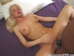 Silvia Saint Takes A Big Black Cock Up Her Butthole