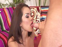 Sexy mexican babe daisy marie gets fucked hard
