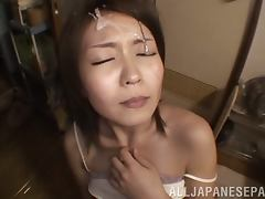 Yuna Hasegawa Gets Her Teen Pussy Licked And Fucked