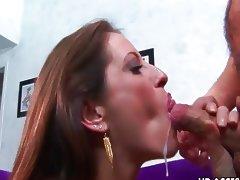 Liza Harper tight holes make cock gush