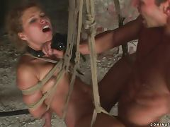 Szilvia gets taken to her new date's dungeon