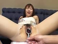 G Spot Big O Widening with Speculum