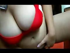 Bangladeshi lady Sajna fingering her pussy near hubby